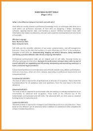 5 6 Skills Based Resume Template Free Wear2014 Com