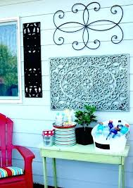 diy outdoor garden wall art projects latest decorating gorgeous for