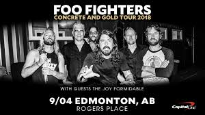Foo Fighters Fenway Park Seating Chart Foo Fighters September 4 2018 Rogers Place