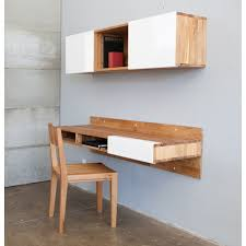 contemporary home office furniture. cherry wall mounted shelf intended for desk u2013 contemporary home office furniture