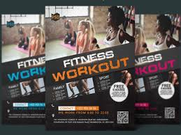 Free Fitness Flyer Template Archives - Mockup Free Downloads