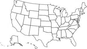 アメリカの政治地図クリップアート ベクター クリップ アート 無料