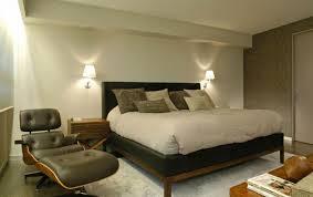 modern black lounge bedroom chair