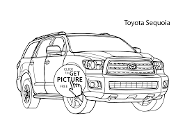 Small Picture car Toyota Sequoia coloring page cool car printable free