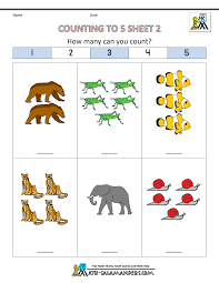 Preschool Counting Worksheets Free Simple Math Chore Chart