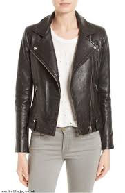 order wua216 vamy studded leather moto jacket women s jackets