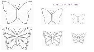 Sagome Di Farfalle Per Decorare Creaconlacarta