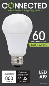 tcp led connected a19 60 w equivalent 11w soft white 2700k wifi enabled wireless smart standard light bulb led household light bulbs com