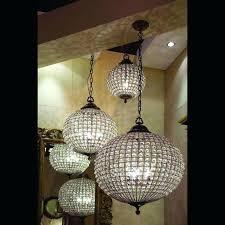 chandeliers crystal ball chandelier cognac antique brass 3 sizes lighting fixture