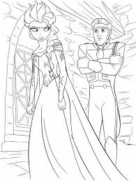Small Picture Coloring Pages Coloring Anna And Elsa From Frozen Frozen Games