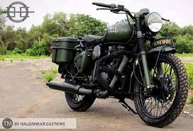 best modified royal enfield bullets