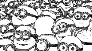 Below are printable cute minion coloring sheets for kids. Minions Coloring Pages Coloring Rocks
