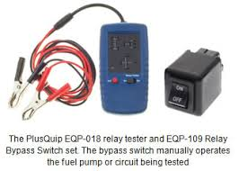 automotive electro mechanical relays types faults diagnosis simple test equipment is available to quickly identify some circuit or relay faults and carry out time saving quick tests