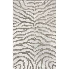 Zebra Print Area Rugs Target Square Brown Or Gold Colors Pattern