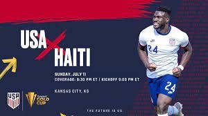 USA vs. Haiti on US TV and streaming ...