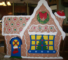 simple homes christmas decorated. Christmas Gingerbread House (LARGE) Yard Decoration Simple Homes Decorated