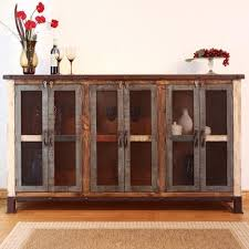 Artisan Home 900 Antique Casual Multicolor Console with 6 Iron