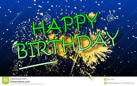 happy birthday images animated happy birthday animation with fireworks stock video video 39911589