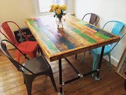 metal furniture plans. Chic Pallet Dining Table Metal Furniture Plans M