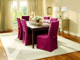 fascinating idea with the dining room chair slipcovers