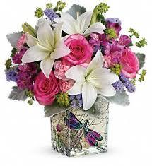 teleflora s garden poetry bouquet