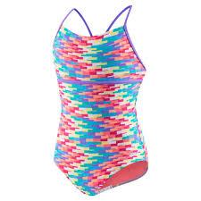 Girls 7 16 Speedo Tropical Strappy One Piece Swimsuit In