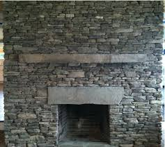 Fireplace Of Natural Stone For Fireplace