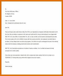 6 7 Sample Employment Verification Letter Titleletter
