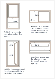 Basement Bedroom Window Plans