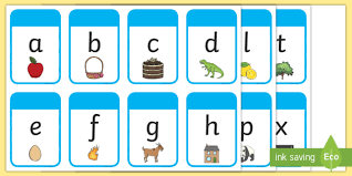 The international radiotelephony spelling alphabet, commonly known as the nato phonetic alphabet or the icao phonetic alphabet, is the most widely used radiotelephone spelling alphabet. Lower Case Alphabet Cards With Pictures Primary Resource