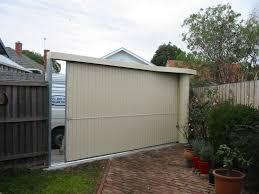 fenceline side roll garage roller doors