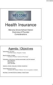 Uw Medicine Org Chart Insurance Plans H Monona Grove School District Overview Of