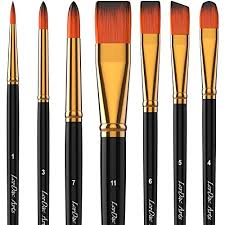 Acrylic Paint Brush Size Chart 10 Best Acrylic Paint Brushes For Both Students And Artists