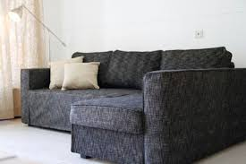 custom ikea manstad sofa bed cover snug