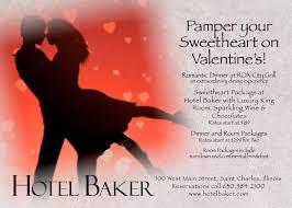 packages fine valentine day hotel specials hotel baker valentine s at hotel baker and rox city grill interesting