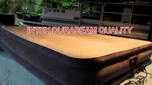 <b>Intex Full</b> 22 DuraBeam Airbed Review - YouTube