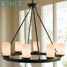 china chandelier with led flameless resin candle
