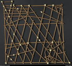 Micronesian Stick Chart Rebbelib Stick Chart From The Marshall Islands Showing
