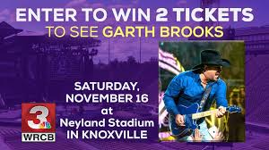 Neyland Stadium Seating Chart Garth Brooks Win Tickets To See Garth Brooks At Neyland Stadium Contest
