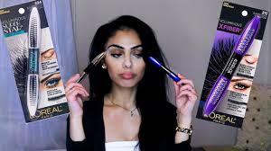 loreal voluminous x fiber mascara vs loreal voluminous superstar mascara review dana dey