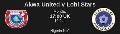Image result for akwa united - lobi stars