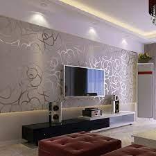 Modern wallpaper living room ...