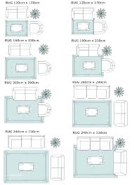 attractive area rug sizes inside chart captivating dining