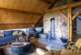 A frame house interior design best photos - image 1