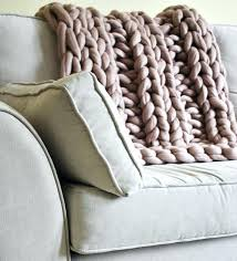 chunky knit throw blanket instructions blush pink