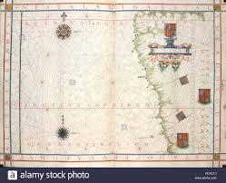 Part Part Whole Chart West Coast Of South America Universalis Orbis Hydrographia