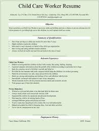 Sample Child Care Resume Daycare Teacher Assistant Jobsxs Com