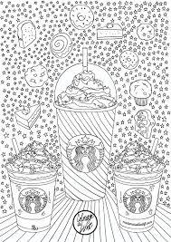 Coloriage Starbucks I Mademoiselle Stef Blog Lifestyle