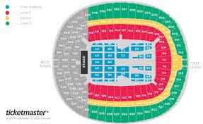 Billy Joel Seating Plan Wembley Stadium