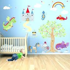 wall stickers art design ideas decor for bedroom childrens baby stars jungle monkey sticker set stick